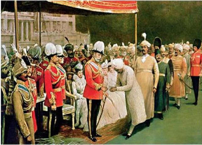 Fig. 3. Image du Raj, dénomination du système de colonisation britannique en Inde. Source : IndiaFacts. http://indiafacts.org/british-colonization-india/