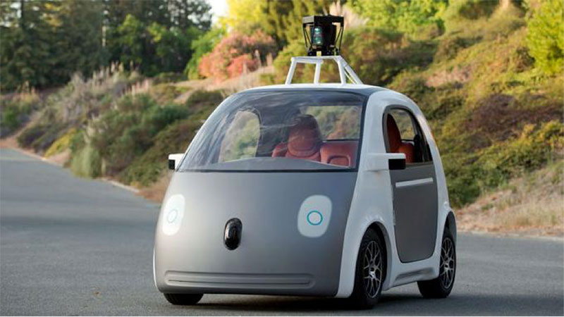 Fig. 13 : La « Google Car » en 2014