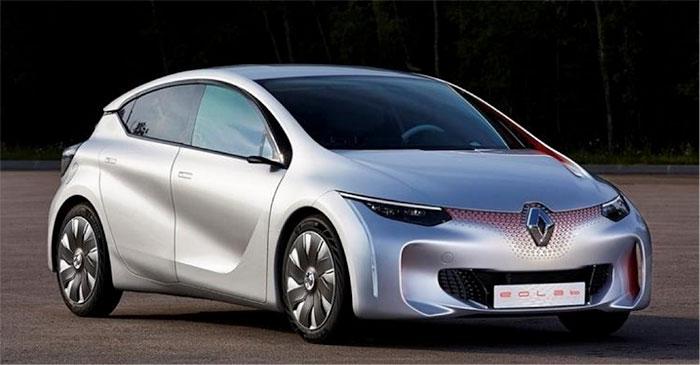 Fig. 16: La Renault Eolab à 1,3 litre aux 100 km
