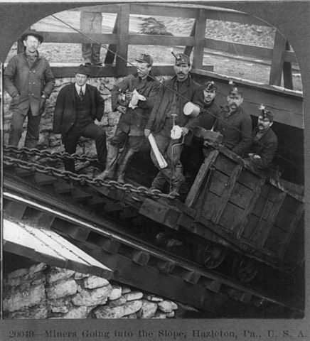 Image 3: The development of the coal industry - Source: Wikimedia Commons
