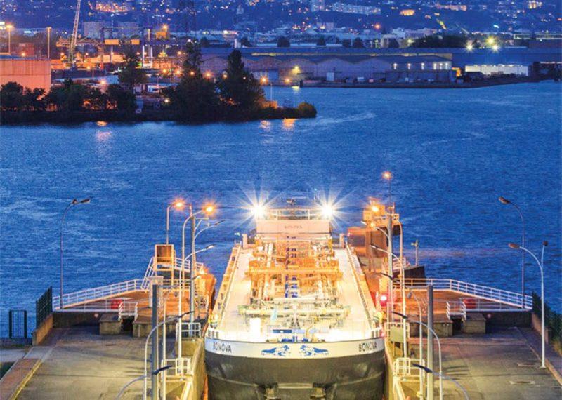 Les grands aménagements hydroélectriques : Pierre-Bénite et les groupes bulbes