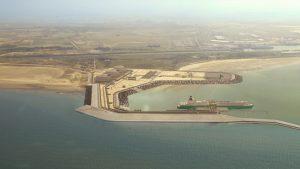 Fig. 5 : Terminal méthanier de Dunkerque (France). Source : ©Dunkerque LNG