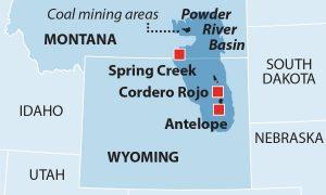 Fig. 1. Les grandes mines de l'ouest. Source : ieefa