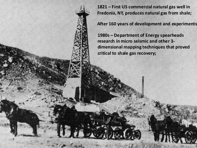 Fig. 4. Le gaz de Fredonia. Source :Timetoas. https://www.timetoast.com/timelines/1670315