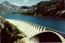 Fig. 8: Presa EDF de Roselend, en Beaufortain - Fuente: foto por EDF