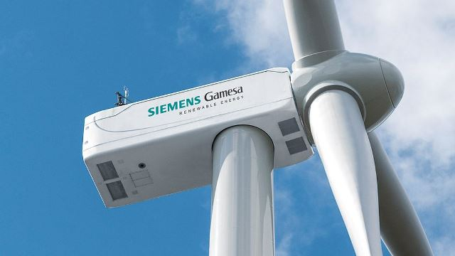 Siemens wind turbine - Siemens Gamesa -model wind turbine - wind turbine