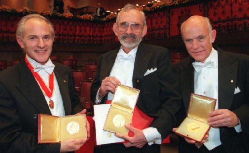 prix nobels chimie 1996
