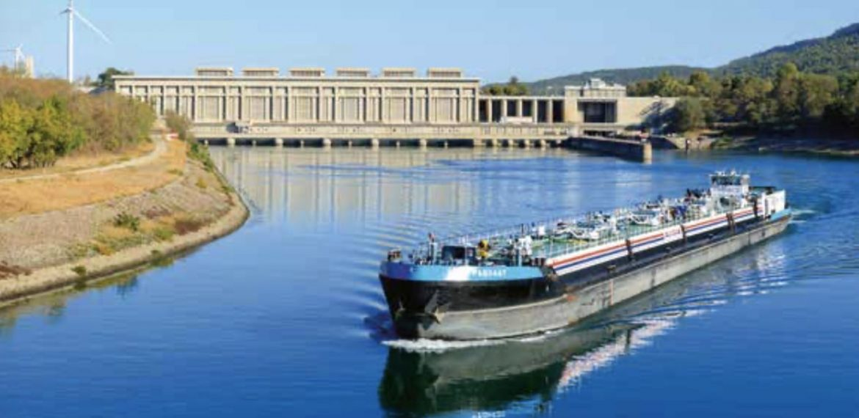 Les grands aménagements hydroélectriques : Donzère Mondragon