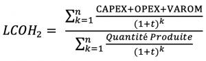 formule hydrogene