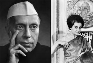 Jawaharlal Nehru-Indira Gandhi