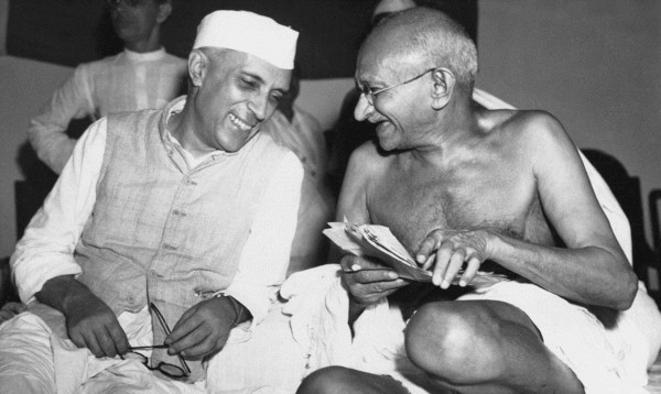 Jawaharlal Nehru - Mahatma Gandhi