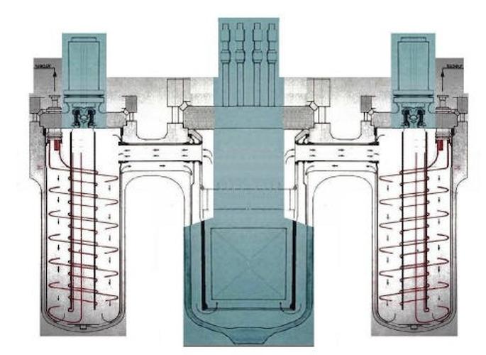 architecture réacteur navire