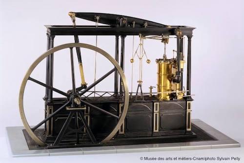 machine vapeur James Watt