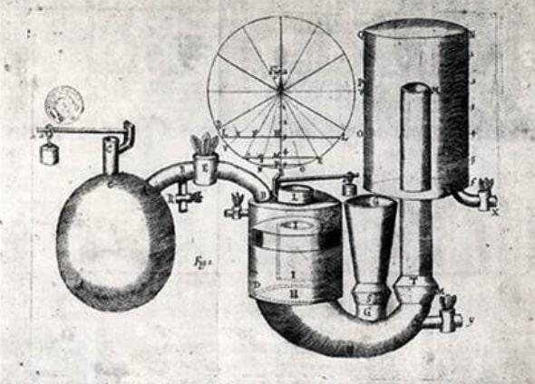 thermodynamique machine Thomas Newcomen